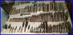 MASSIVE LOT OF 100s METAL MACHINISTS LATHE TOOLS VINTAGE 1970S HIGH SPEED STEEL