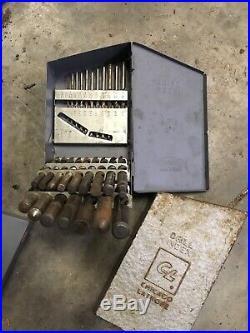Machinist Drill Bit Set Lot 0-60 61-80 A-Z 1/16-1/2 Tool Box Find Lathe Mill Tap