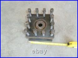 Machinist Lathe Tool Post Tool Holder 4-Way