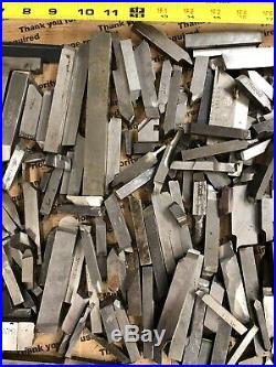 Machinist Lot of HSS Cobalt Lathe Tool Bits Used