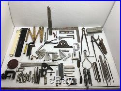 Machinist Mixed Lot Measuring Tools Gauges Bits Lathe + Milling #01