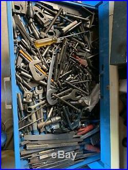 Machinist Tool Lot, End Mills, Drill Bits, Lathe Cutting Tools, Carbide, Files
