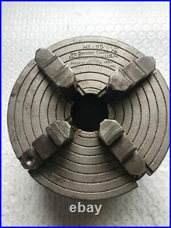 Machinist Tools Skinner Chuck Lathe Chuck 5 HS-95-61A 4 Jaw