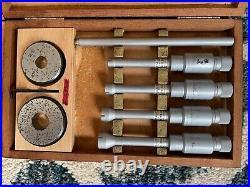 Machinist tools, Etalon Inside Micrometers, 5-10 mm and 10-20 mm lathe Mill
