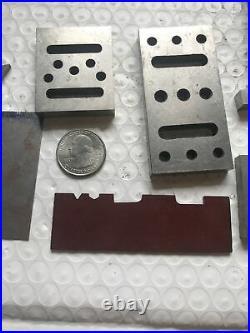 Machinist tools lathe tools Machinist set up blocks and parallel blocks