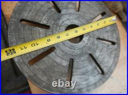 Metal Lathe 12 Faceplate With D1-4 Mount Machinist Tooling