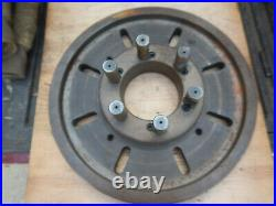 Metal Lathe 14 Faceplate With D1-6 Mount Machinist Tooling