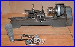 Metal Lathe Bench top machinist jewelers watchmaker Sears Dunlap gear set tool