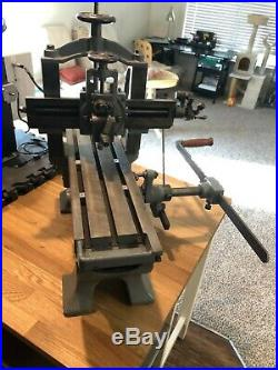 Metal planer shaper Tom Senior antique benchtop machinist tool lathe milling
