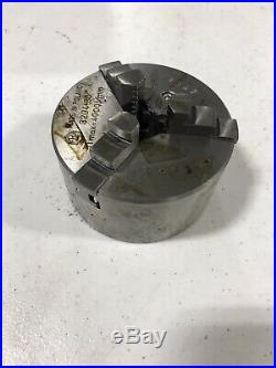 New Bison 3204 3 1/4 Scroll Chuck 3 Jaw Lathe Key Collet Mill Machinist Tool