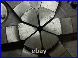 Older Cushman 6 Jaw Metal Lathe Chuck With Key Machinist Tool Lot