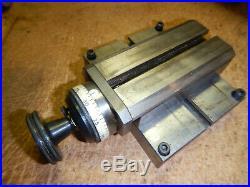 Older Hardinge Metal Lathe L4 Base With L3 Tool Slide Machinist Tool