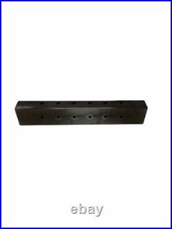 POLAMCO Lathe GAUGE GAGE BLOCK Machinist Plate Fixture WOOD BOX