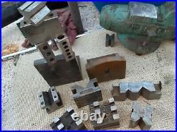 PRICE LOWERED Vntg Machinist Tool Maker V-Block Set-Up Block Lot Lathe Milling