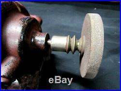 Rare Dumore type D2 jeweler machinist mini bench lathe grinder multi speed tool