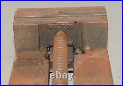 Rare Wilton USA quick release machinist vise 6 jaw drill press lathe tool