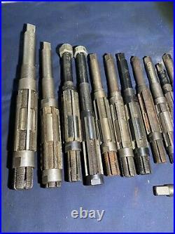 Reeming tools British made bluepoint quality joblot mixed x16 machinist lathe