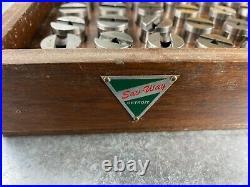 Sav Way Plug Pin Gage Set No. 3 From. 750 To 1.000 Machinist Tool Lathe MILL