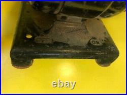 Scarce Vintage Dumore type D2 Jeweler Machinist Mini Bench Lathe Grinder Tool