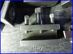 Schaublin 102 Swiss Lathe Tripan 111 Tool Post & Tool Holder Lot Machinist Tools