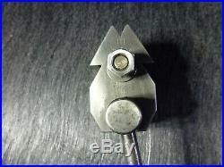 Schaublin 102 Swiss Lathe Tripan Tool Post & 2 Holders Machinist Tools