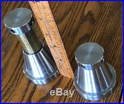 Screw Jack MACHINIST MILL LATHE TOOL MAKERS LEVELING SET of TWO 5,000LBS. EACH