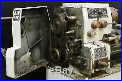 Standard Modern 11/20 with TONS OF TOOLING Metal Lathe Machinist 13 Swing
