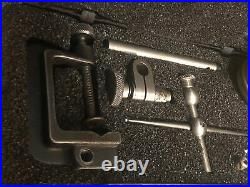 Starrett 196 Universal Dial Test Indicator Set Machinist Tool Maker Lathe Mill