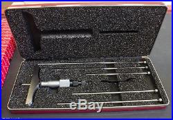 Starrett Depth Gage Micrometer 445BZ-6RL MACHINIST TOOLS LATHE MILL CNC Metal