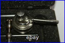 Starrett No. 196 Dial Test Indicator Set Machinist Tool Lathe Mill. 001 Jeweled