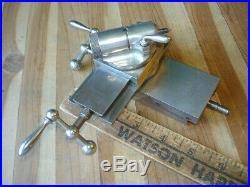 Superb Vintage The Rivett Jewelers Machinist Lathe Xyz Cross Slide & Tool Post