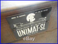 Unimat SL Mini Bench Machinist Lathe withBox + Extras FREE ShipN