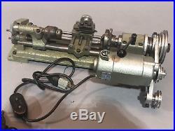 Unimat-SL Model DB200 Vintage Jewelers Lathe Gunsmith Machinist Tool Maker Mill
