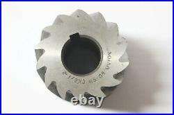 Union Plain Mill Milling Cutter 2.5 x 3 x 1 Bore HSS Machinist Lathe Tool NOS