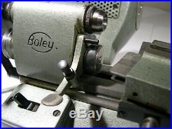 Very nice Boley F1 Watchmakers Lathe Watch Repair Machinist