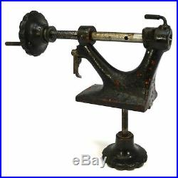 Vintage ADJUSTABLE LATHE TAILSTOCK Unbranded Tail-Stock OLD MACHINIST/WOOD TOOL