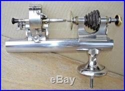 Vintage American Watch & Tool Jewelers Machinist Lathe + Rare Milling Attachment