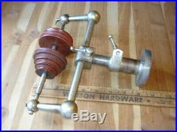 Vintage Jewelers Machinist Lathe Tool Idler Jack Pulley Shaft Stand