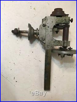 Vintage Jewelers Or Machinist Lathe Parts With 3 Jaw Chuck Faceplate