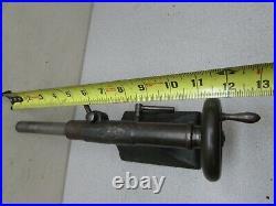 Vintage Lathe Tail Stock Tailstock Cast Iron Machinist Jeweler Watchmaker