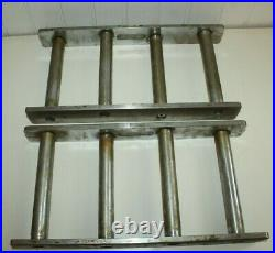 Vintage Machinist Tools Blocks Lathe Milling Setup Riser Blocks 12 lb each