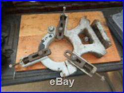Vintage Metal Lathe Steady Rest Lot A Machinist Tooling Fixture