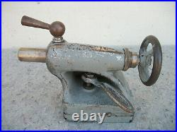Vintage Metal Lathe Tail Stock Machinist Tooling South Bend Atlas Craftsman