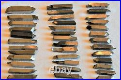 Vintage Mix Lot of 112 Machinist Machining TOOLS LATHE MILL Cutting Bits Cutter