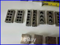 Vintage Mixed Lot 123 Machinists Machining Steel Blocks Lathe Thomas MET