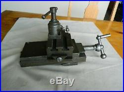 Vintage STARK Watchmaker Compound Cross Slide Lathe Milling Tool Vise Machinist