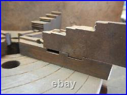 Vintage Skinner 4 Jaw Low Profile Lathe Chuck With Key Machinist Tool