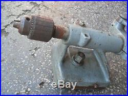 Vintage South Bend Logan Machinist Lathe Drill Post Attachment Free Shipping
