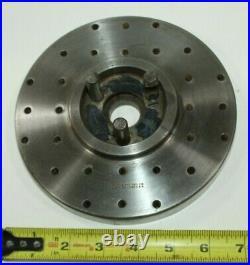 Vintage Steel machinist lathe face plate PRATT & WHITNEY CO. HARTFORD CONN. USA