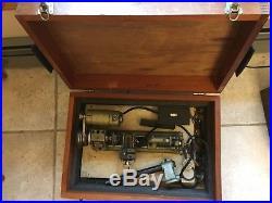 Vintage Unimat Mini Lathe Model SL-1000 Machinist Tools Austria